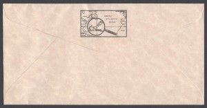 1986 Bermuda Shipwrecks Part II reverse FDC