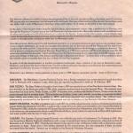 1986 Bermuda Shipwrecks Part II liner reverse FDC