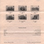 1986 Bermuda Shipwrecks Part II liner FDC