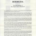 1986 Queen Elizabeth II 60th Birthday liner FDC
