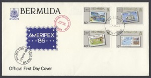 1986 AMERIPEX 86 Chicago FDC