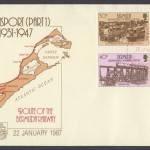 1987 Bermuda Transport Part I Bermuda Railway FDC