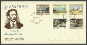 1987 Painting of Winslow Homer FDC