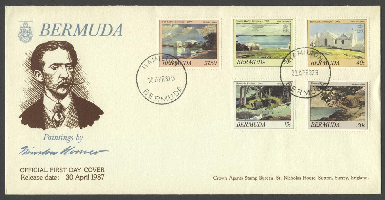 1987 Winslow Homer Bermudian Watercolours