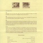 1987 Centenary of the Bermuda Telephone Company liner reverse FDC