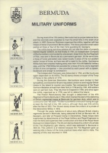 1988 Military Uniforms insert FDC