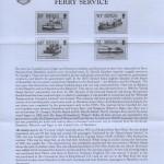 1989 Transport Ferry Service Pt III insert FDC