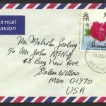1989 Old Garden Roses 50c Booklet Stamp FDC