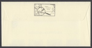 1990 Bermuda Paintings Part II reverse FDC