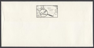 1990 Stamp World London 1990 reverse FDC
