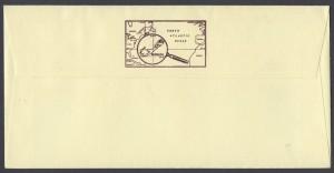 1991 Bermuda Transport IV reverse FDC