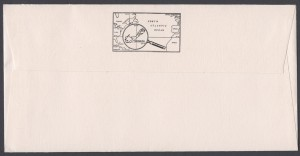 1991 Bermuda Paintings Part III reverse FDC