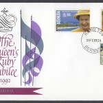 1992 40th Anniversary of Accession of HM Queen Elizabeth II Fleetwood FDC