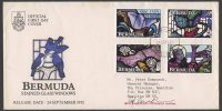 1992 Bermuda Stained Glass Windows FDC