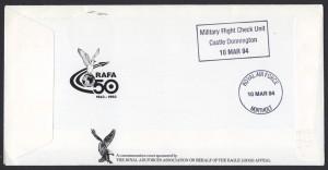 1993 75th Anniversary of the RAF RAFA rev FDC