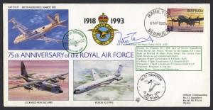 1993 75th Anniversary of the RAF RAFA FDC
