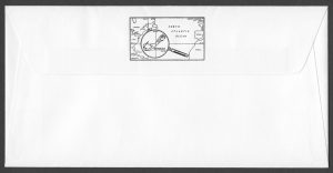 1993 75th Anniversary of the RAF FDC reverse