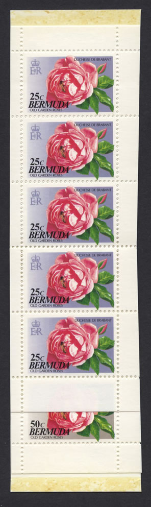 1993 Old Garden Roses Booklet Stamps SB5