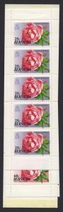 1993 Old Garden Roses Booklet Stamps SB6