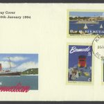 1994 75th Anniversary of Furness Bermuda Line FDC