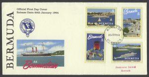 1994 75th Anniversary of Furness Bermuda Line FDC