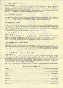 1994 Flowering Fruits Definitive Series Part II insert reverse FDC