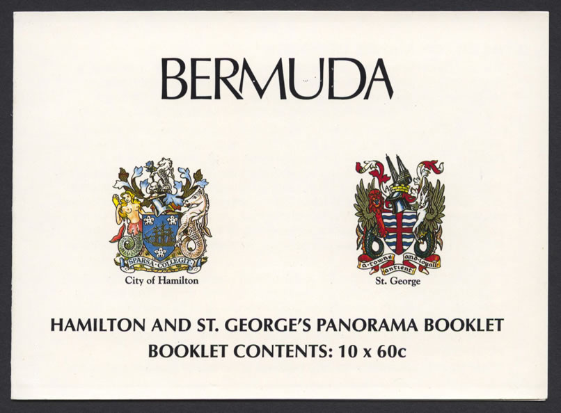 1996 Hamilton and St George's Panoramas Booklet front