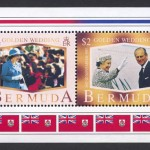 1997 Golden Wedding Anniversary Souvenir Sheet