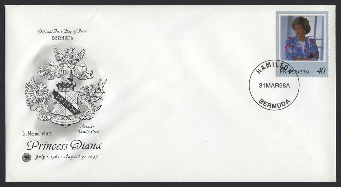 1998 Diana, Princess of Wales Commemoration 40cFDC