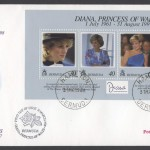 1998 Diana, Princess of Wales Commemoration Official FDC