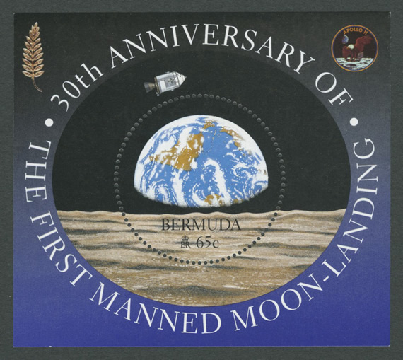 1999 30th Anniversary of the First Manned Moon Landing MS