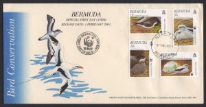 2001 WWF Bird Conservation FDC