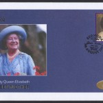 2002 Queen Elizabeth the Queen Mother 30c FDC