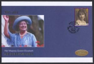 2002 Queen Elizabeth the Queen Mother 30c FDC