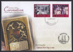 2003 50th Anniversary of the Coronation FDC