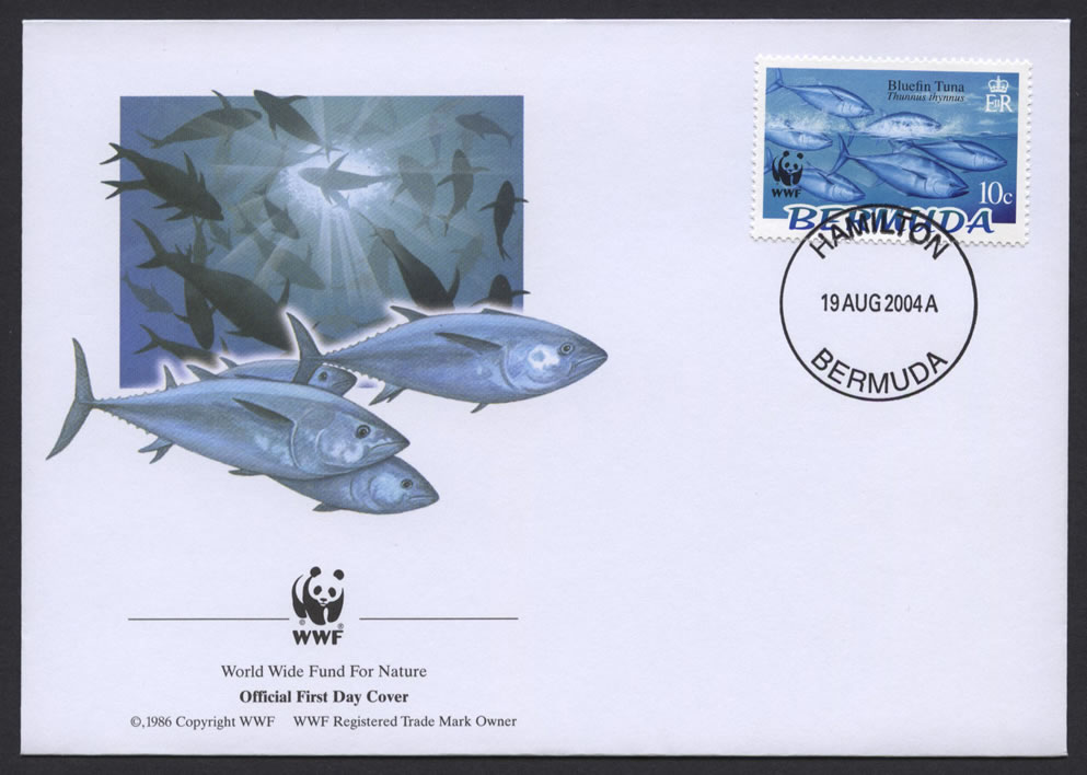 2004 WWF Endangered Species Bluefin Tuna 10c FDC