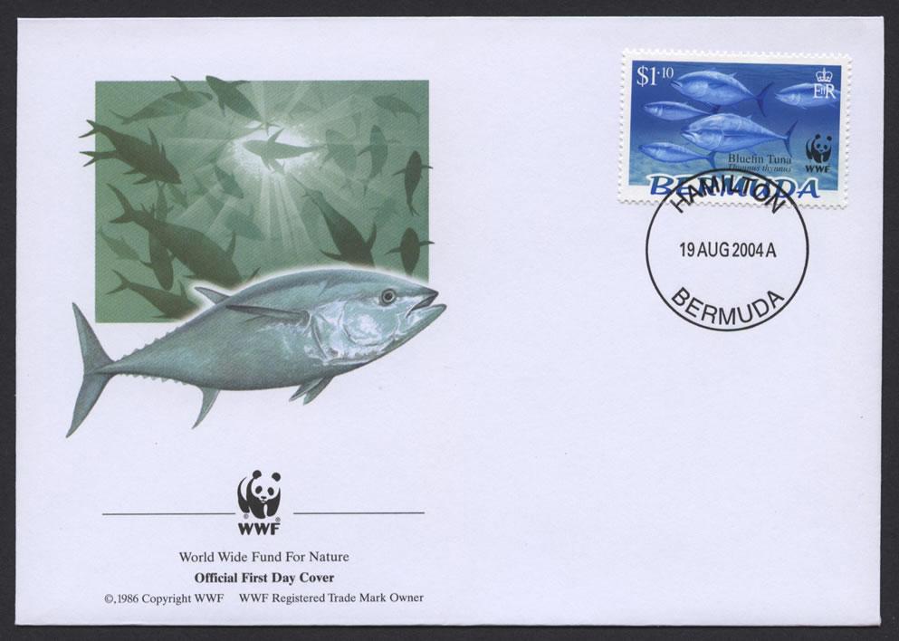2004 WWF Endangered Species Bluefin Tuna $1 FDC