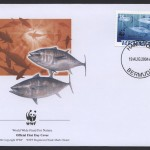 2004 WWF Endangered Species Bluefin Tuna 35c FDC