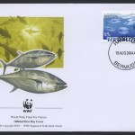 2004 WWF Endangered Species Bluefin Tuna 85c FDC