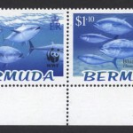2004 WWF Endangered Species Bluefin Tuna marginal strip of 4