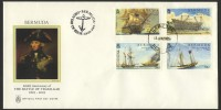 2005 200th Anniversary of The Battle of Trafalgar FDC