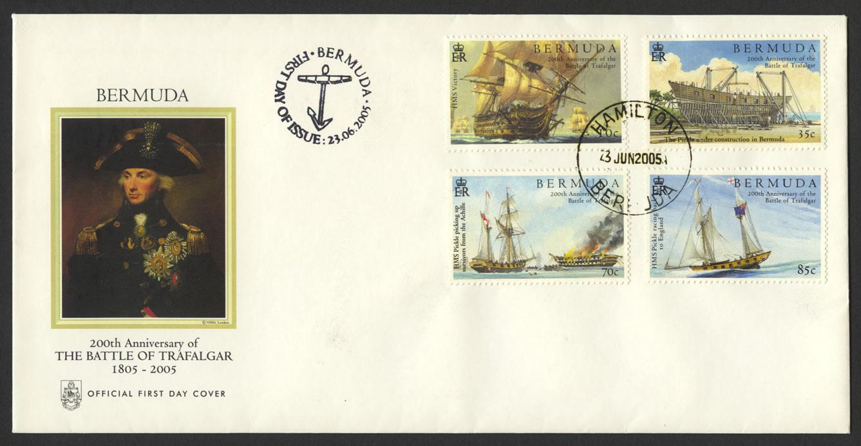 2005 200th Anniversary of The Battle of Trafalgar FDC