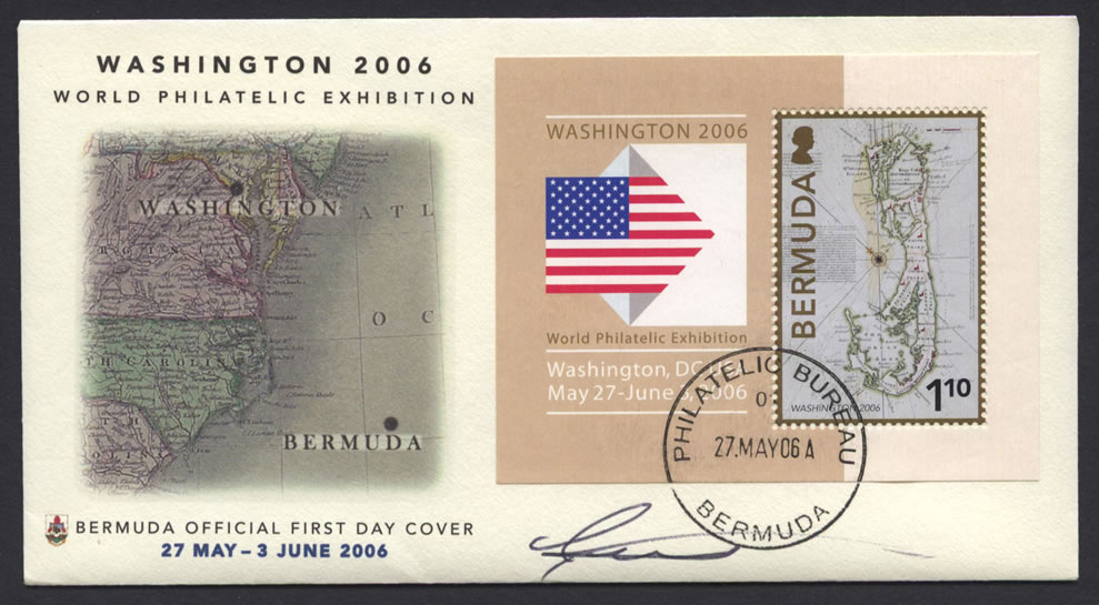 2006 Washington World Philatelic Exhibition FDC
