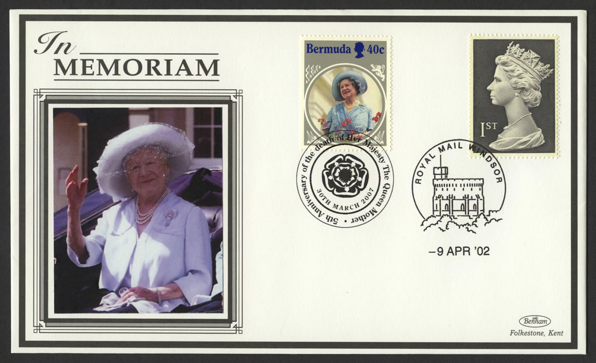 2007 5th Anniversary of the death of HM The Queen Mother - Bermuda