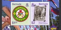 2007 Centenary of World Scouting Souvenir Sheet
