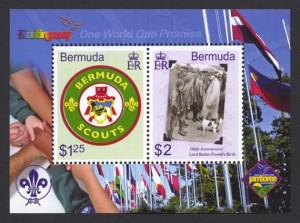 2007 Centenary of World Scouting Souvenir Sheet