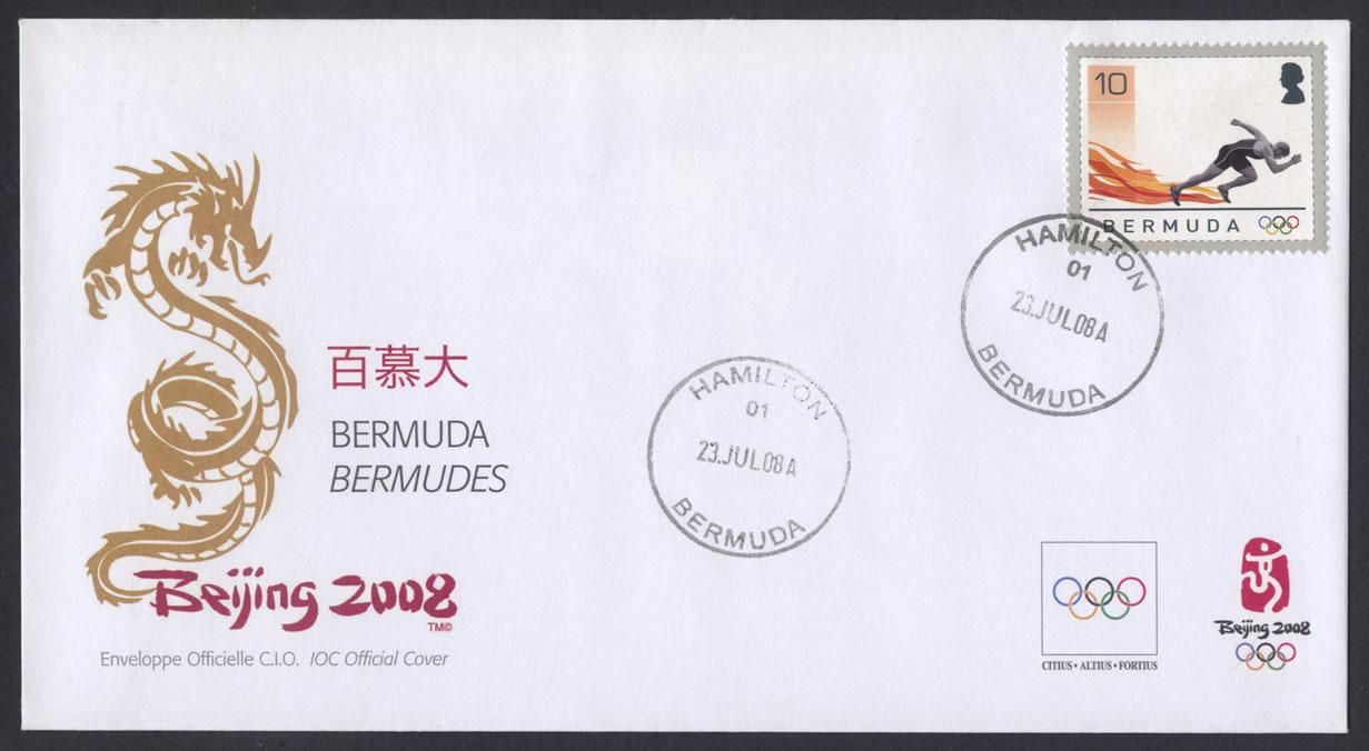 2008 Beijing Olympics FDC