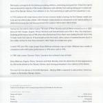 2008 Beijing Olympics insert reverse FDC