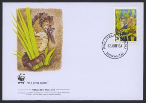 2010 WWF Lined Seahorse 85c FDC