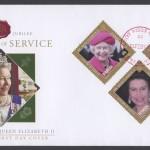 2012 Diamond Jubilee Lifetime of Service FDC